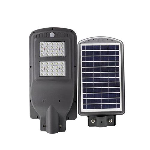 25 LED Solar Street Light 40W 6500K