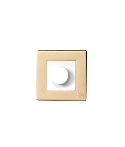redone dimmer swith avant champagne
