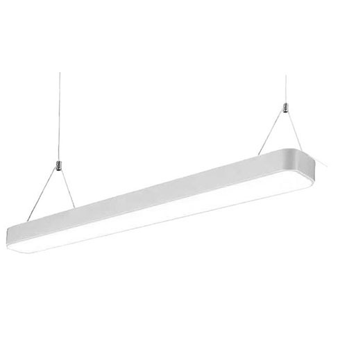 21 Office Light Led 4ft single 36W White Greengo