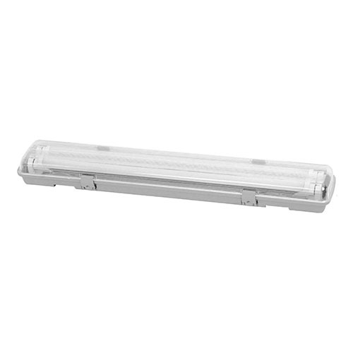 83 LED W proof Fitting 2ft 2x9W IP65 W out Tubes Greengo