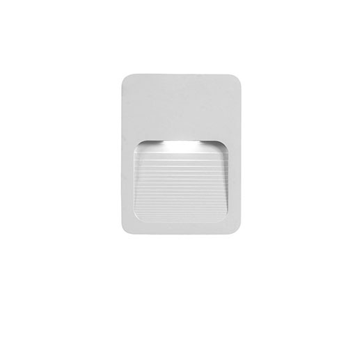 00 Steplight 2W Outdoor Surface White Greengo