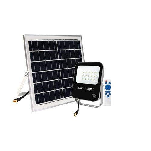 88 Led Solar Floodlight 60W daylight solar panel remote KD