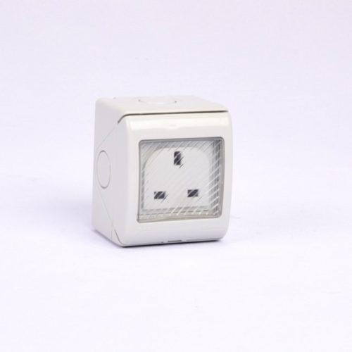 socket 13A single waterproof Kripal