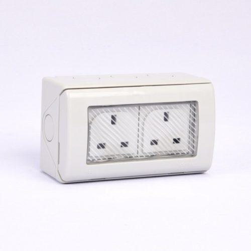 socket double waterproof 13A Kripal