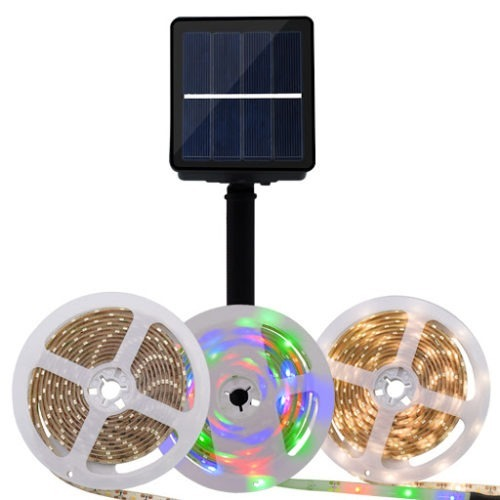 led strip solar rgb